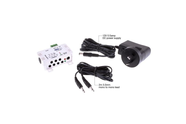4 Port Junction Box With Power Supply