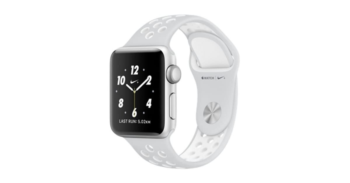 apple watch series 2 silver aluminium 38mm nike. Black Bedroom Furniture Sets. Home Design Ideas