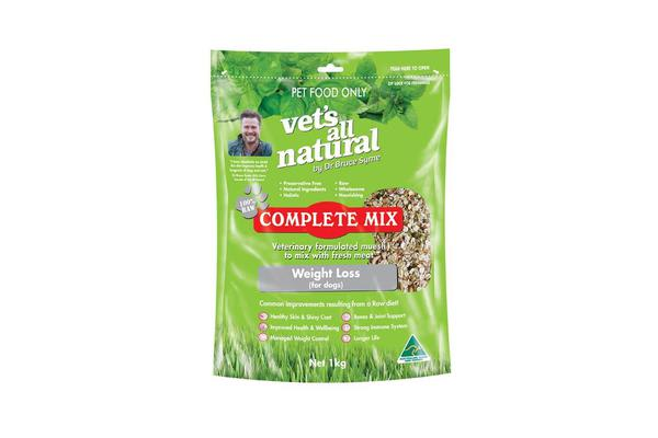 Dick Smith Vets All Natural Complete Mix Weight Loss 1kg Pet