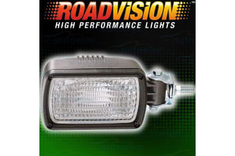 ROADVISION WORK LIGHT LIGHTS LAMP FLOOD BEAM 55W WATT SIDE MOUNT 12V NS1115F