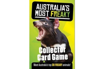 Australia's Most Freaky - Collector 30 Card Game