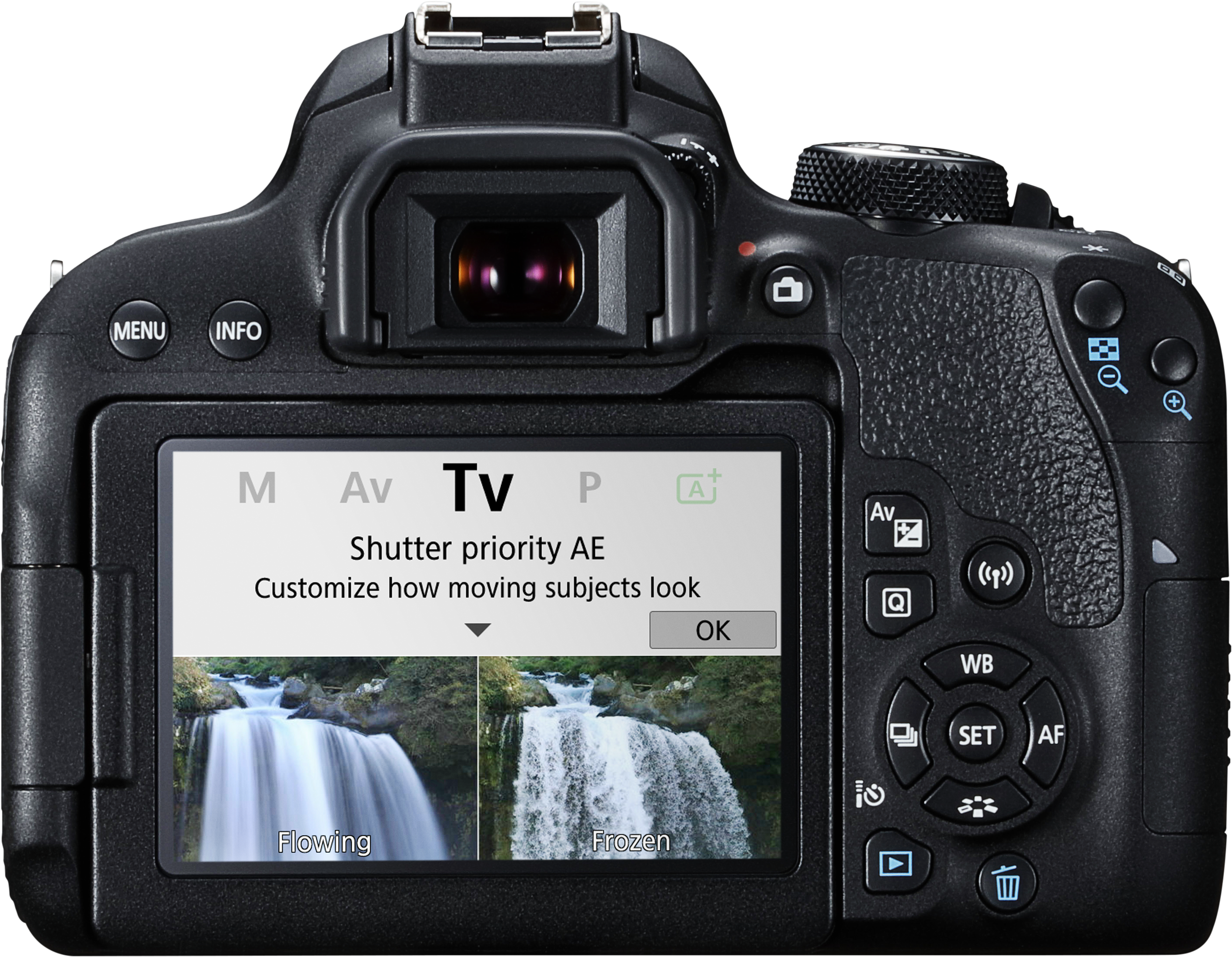 Canon 800D New Guided Display TV Mode