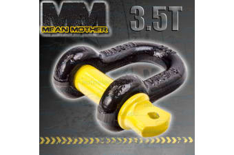 4x4 4WD RECOVERY D SHACKLE TOW WINCH SNATCH 3.5 TONNE MEAN MOTHER 16x19 MM513