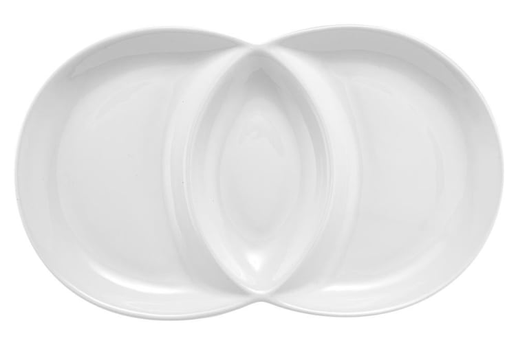 Ladelle Classica Mini Loop Platter White