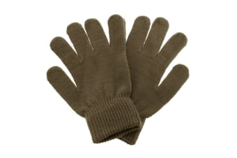 ProClimate Inspirations Womens Magic Gloves (Brown)