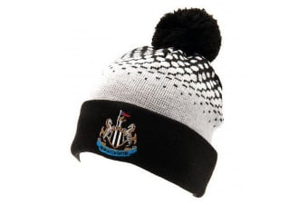Newcastle United Official Cuff Bobble Knitted Hat (Multi-colour)
