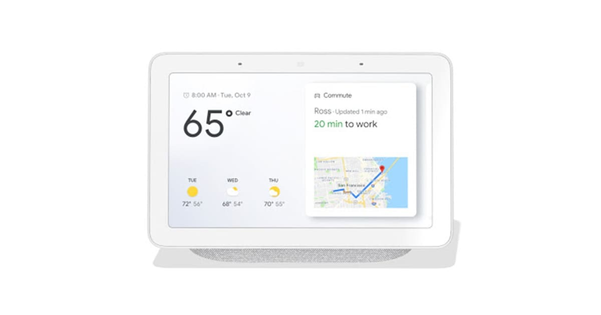 google home hub  chalk  - australian model