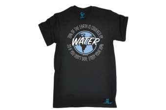 Open Water Scuba Diving Tee - 7 Of Earth Covered By Mens T-Shirt