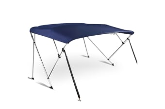 2M 3-bow Bimini Top 1.8-2M (Navy)