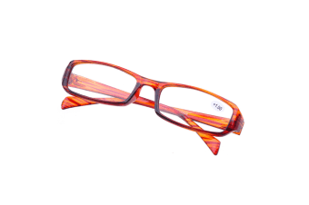 High Quality Unbreakable Presbyopic Reading Glasseses For Elders With Different Degrees Brown Degree +3.50