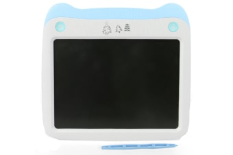 WJS 8.5 Inch LCD Smart LCD Electronic Tablet Can Remove The Graffiti Painting Board for Children-Blue