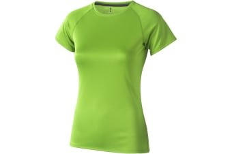 Elevate Womens/Ladies Niagara Short Sleeve T-Shirt (Apple Green) (XS)