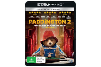 Paddington 2 4K Ultra HD Blu-ray Digital Download UHD Region B