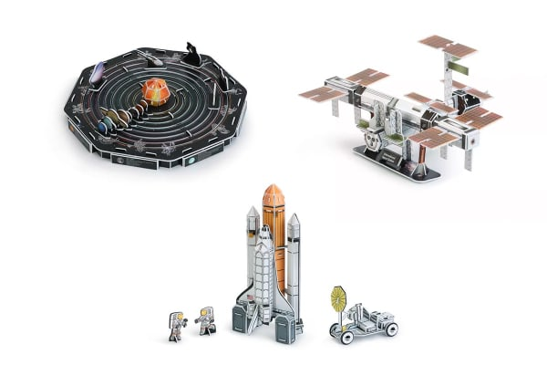 3D Puzzle Collector's Pack (Space)