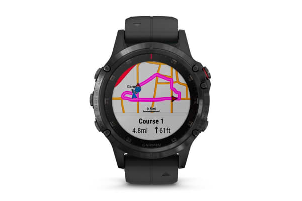 Garmin Fenix 5X Plus Sapphire Edition Black with Black Band