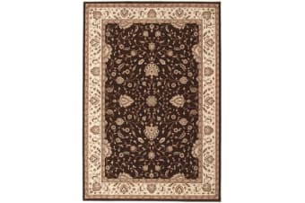 Stunning Formal Classic Design Rug Brown 230x160cm