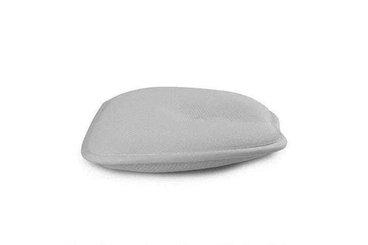 Bubba Blue Breath Easy Infant Baby Head Rest Support Grey