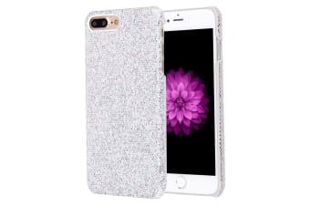 For iPhone 8 PLUS 7 PLUS Case Stylish Twinkling Paillette Durable Cover Silver