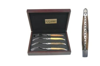 Laguiole En Aubrac Steak Fork Set