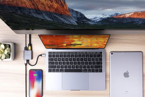 HyperDrive 3-in-1 USB-C Hub with 4K HDMI Output - Space Gray (90026475)