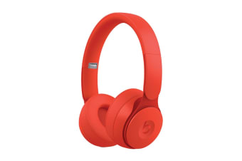 Beats Solo Pro Wireless Noise Cancelling Headphones (Red)