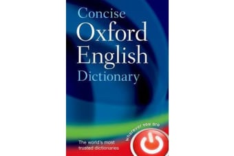 Concise Oxford English Dictionary - Main edition