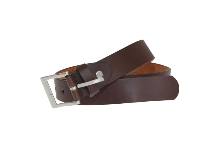 """Forest Belts Mens 1.1in Bonded Leather Belt (Brown) (XX-Large (44""""-48""""))"""