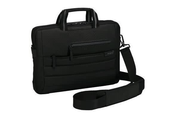 "Targus Topload Carry Bag for 12-13.3""  Laptop/Notebook  - Black Pewter Slipcase"