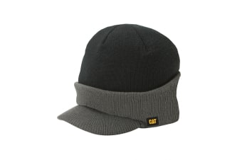 Caterpillar Visor Cap / Baseball Caps / Headwear (Graphite/Black)