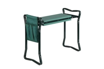 Gardeon Garden Kneeler and Seat Tool Pouches Outdoor Bench Knee Pad Foldable