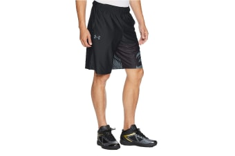 "Under Armour Men's SC30 Core 11"" Shorts (Black/Stealth Gray)"