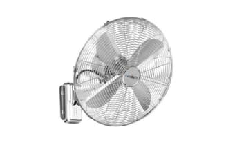 Devanti 40cm Wall Mountable Fan Silver