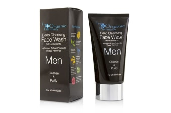 The Organic Pharmacy Men Deep Cleansing Face Wash - Cleanse & Purify 75ml