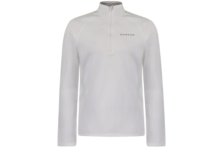 Dare 2B Mens Interfuse Core Stretch Lightweight Pullover (White) (XL)