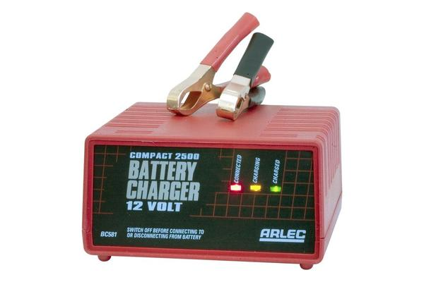 Arlec 2.5Amp Auto Battery Charger