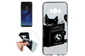 For Samsung Galaxy S8 Case Cats World Domination Durable Protective Cover