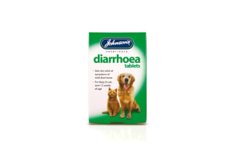 Johnsons Veterinary Dog/Cat Diarrhoea Tablets (N/A) (12 Tablets)