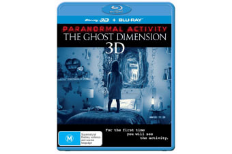 Paranormal Activity The Ghost Dimension 3D Edition with 2D Edition Blu-ray