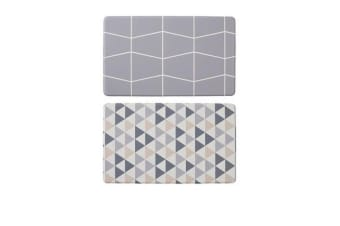 Davis & Waddell Reversible Anti-Fatigue Mat Triangle/Grid