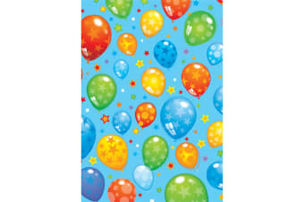 Iparty All Wrapped Up Balloons Gift Wrap (24 Sheets) (Blue)