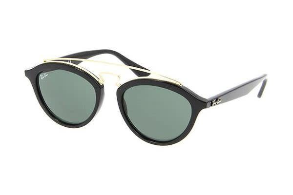 Ray-Ban RB4257 - Black (Grey Green lens) / 53--19--150 Unisex Sunglasses