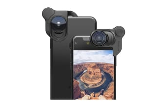 OlloClip Lens Set for iPhone X - Black (OL075R)
