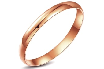 Large Bangle Rose Gold-Rose Gold