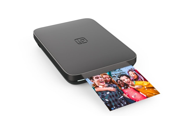 Lifeprint 3 x 4.5 Portable Photo & Video Printer with BONUS Photo Film - Black (90024850)