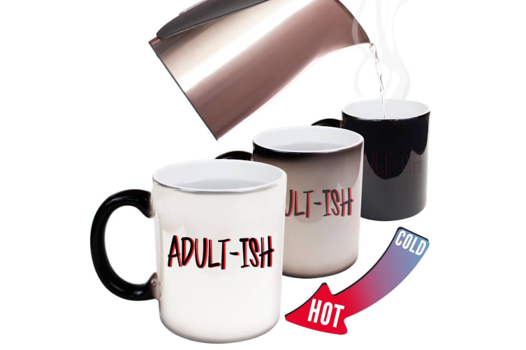 123T Funny Colour Changing Mugs - Adultish Funny