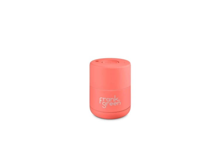 Frank Green Ceramic Reusable Cup 175ml Living Coral