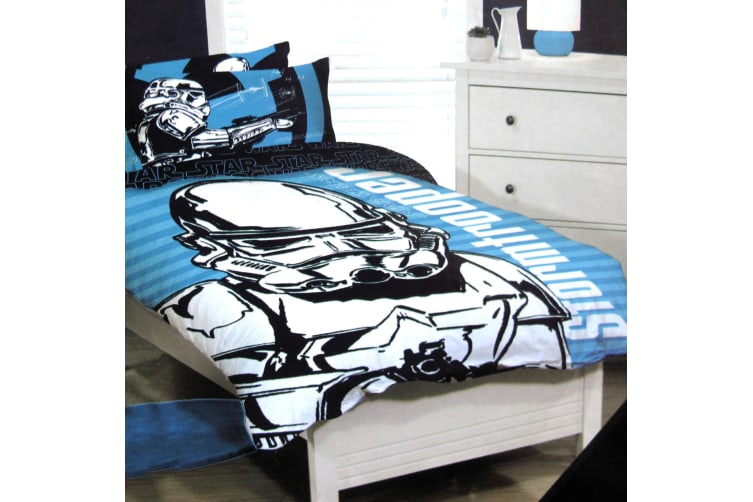 Star Wars Quilt Cover Set Queen by Disney