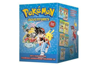 Pokemon Adventures Red & Blue Box Set - Set includes Vol. 1-7