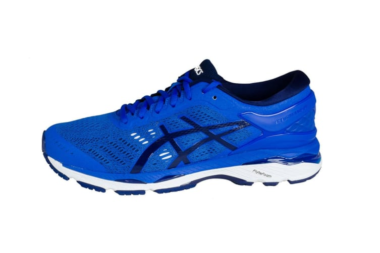 ASICS Men's Gel-Kayano 24 Running Shoe (Victoria Blue/Indigo Blue/White, Size 11)