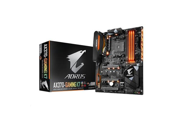 Gigabyte GA-AX370-Gaming K7 For AMD Ryzen Socket AM4. AMD X370 Chipset 4X DDR4-3200 M.2 SATA3